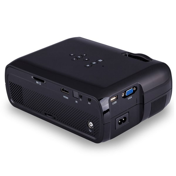 Bl 80 1080p Hd Mini Portable Led Cinema Home Theater Projector 3d Av ...
