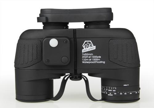 E.T Dragon 7x50 Binoculars Professional Waterproof Marine Binocular High Quality with Rangefinder and Compass Eyepiece Focus CL3-0040