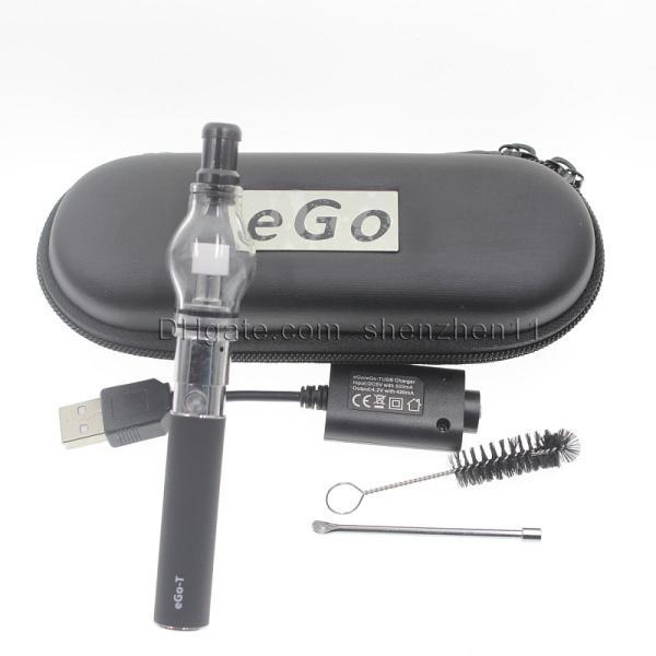 Ego t starter kit with globe en verre atomiseur à vapeur globe atomiseur meilleur vaporisateur stylo vaporisateur cire atomiseur parfum ampoule clearomizer CA0005