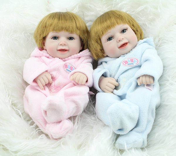 Newborn Twin Doll Set