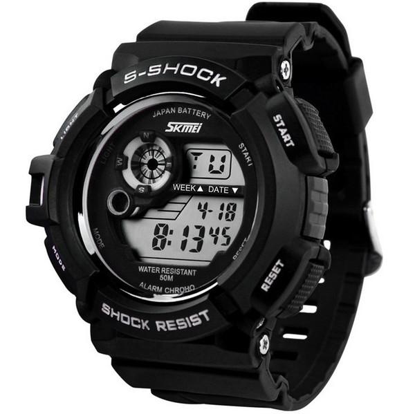 Новый G Style Digital Watch S Shock Men военная армия Часы водостойкие Дата Календарь Светодиодные спортивные часы relogio masculino