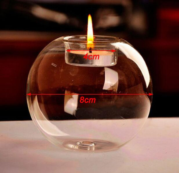 100pcs Fashion Hot Classic Crystal Glass Candle Holder Wedding Bar Party Home Decor Candlestick SL5088