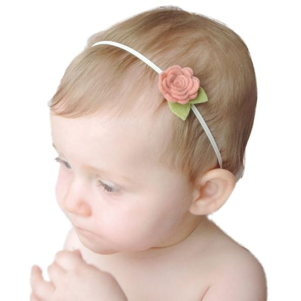 Mini Floral 21 Colors Boutique Hair Accessories As Photography Props Baby Girls Headbands Birthday Gifts for Kids