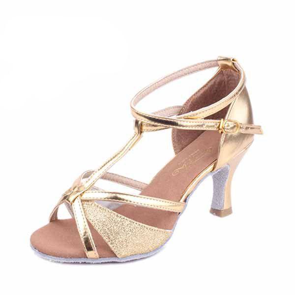 Brand New Women's Modern Ballroom Latin Tango Dance Shoes for momen heeled comfortable Girl lady 3 colors 255