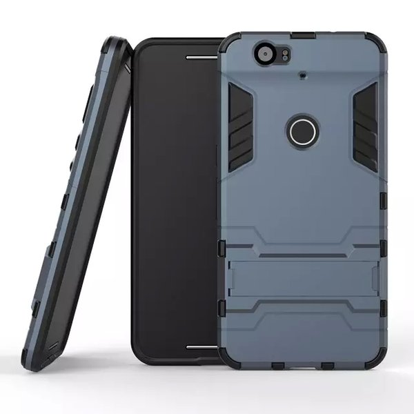 Iron Man Holster Hard Case Hybrid 3 in 1 PC+TPU Heavy Duty Rugged Soft Silicone Cover with holder for iphone 7 6S Samsung S6 S5 HTC M8 LG