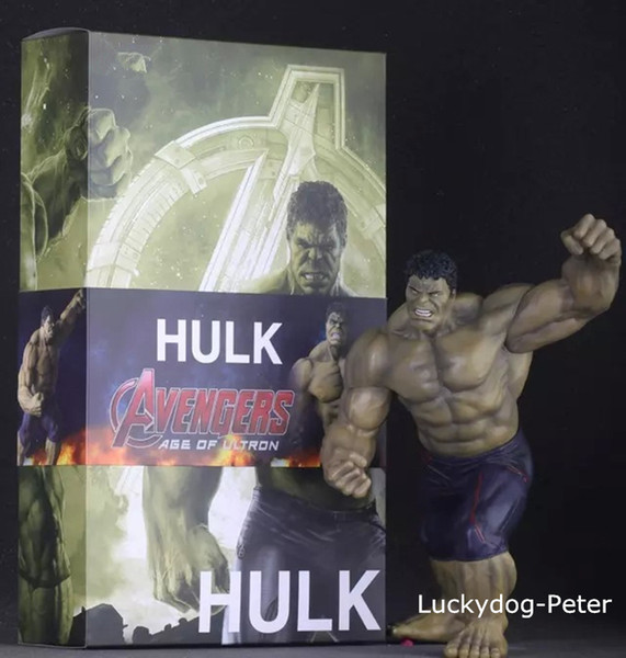 Free Shipping Hulk The Avengers Action Figure Dark Hulk Doll PVC ACGN figure Garage Kit Toy Brinquedos Anime 30CM