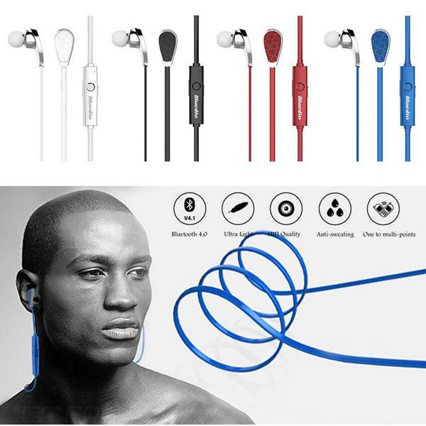 Auriculares estéreo con micrófono inalámbrico Bluedio N2 Sport Bluetooth 4.1 para iPhone Samsung