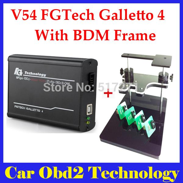 Bdm frame+Fgtech Galletto 4 Master V54 OBD2 Chip Tuning (Quality A+ ) FG Tech Galletto 4 Master by DHL Free