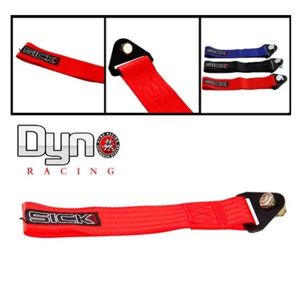 2015 Hot New Universal High Quality Sick tow strap cable de arrastre de color rojo CNC