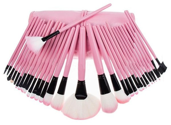 2016 Hot sale 32pcs Professional Makeup Brushes Set Tools Pro Foundation Eyeshadow Brushes Superior Soft Eyeliner Make up Brushes