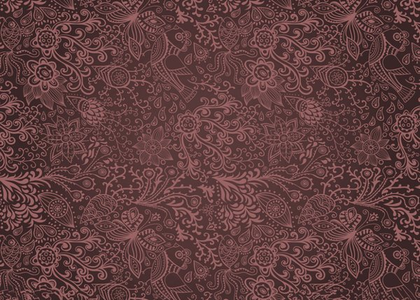 7x5ft Vinyl Damask Photography Backdrops Prop Studio Background Decorative Flower NHW-200