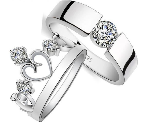 bague en argent femme avec diamant