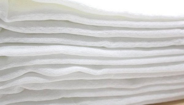 Breathable strong absorbent of diaper changing pads soft handfeel cotton gauze pad comfortable wear washable reusable