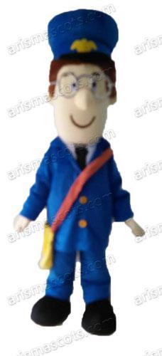 Chegada NOVA Postpat Man traje da mascote dos desenhos animados da mascote trajes para crianças festa de aniversário Deguisement Mascotte personalizado mascotes em Arismascots C