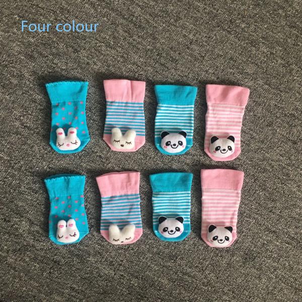 Hot sale Toddler Infant Cute Cartoon Short Socks Kids Panda 3D Animal Stockings Children Socks
