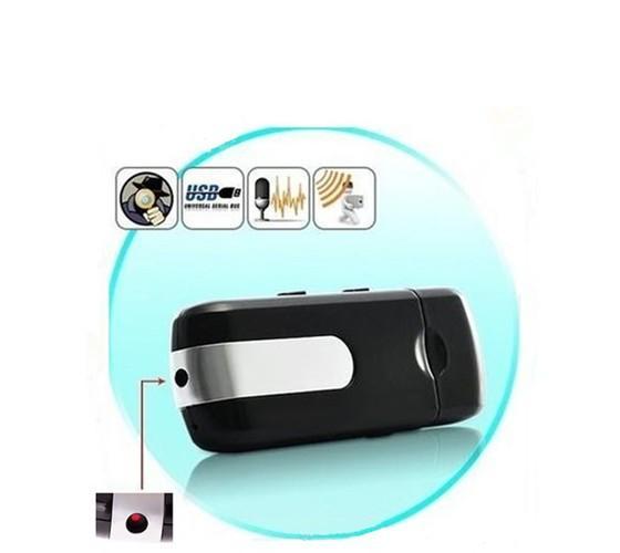 U8 USB DISK mini cámara DVR U8 Detección de movimiento USB Flash Drive pinhole Cámara U Disk mini Video Recorder soporte TF tarjeta