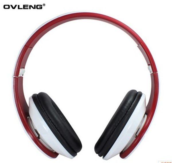 Wholesale-Hot Ovleng X8 3.5mm Klapp Stereo Kopfhörer Kopfhörer mit Mikrofon Abnehmbarer Kabel Controller für PC