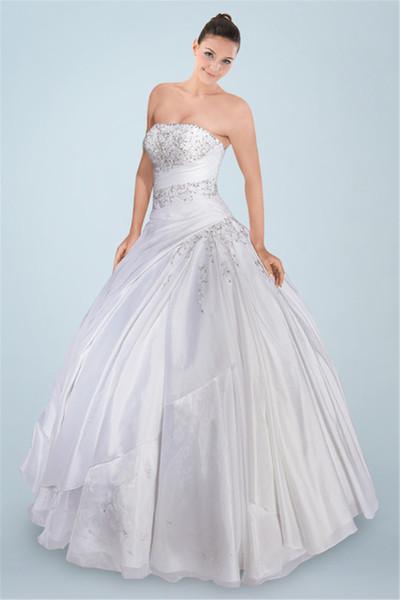 Vestidos de novia strapless 2016