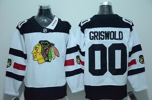 new styles d4185 796e4 2019 2016 Stadium Series Chicago Blackhawks Ice Hockey Jerseys Cheap #00  Clark Griswold Jersey White Authentic Stitched Jerseys ! From Qqq8, $24.65    ...