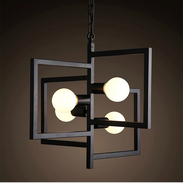 Vintage industrial Pendant lamps Competitive E27 E26 Loft American Country Pendant Lamps Fit for Mall Iron Retro ty-027
