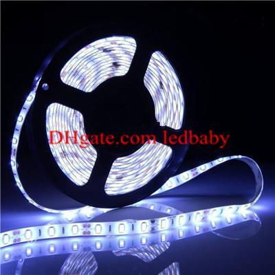 5630SMD LED Strip Light Impermeabile 300LED 5M / roll 16.4 FT Rope Lighting Bianco caldo Fresco Bianco Rosso Blu Verde
