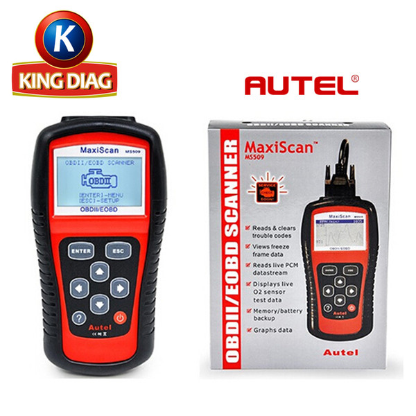top popular Wholesale Autel MaxiScan MS509 OBD Scan Tool OBD2 Scanner Code Reader Auto Scanner 2020