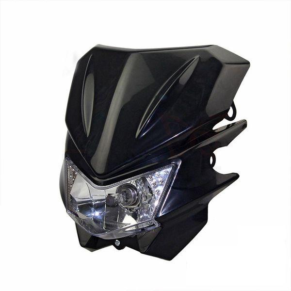 TKOSM Motorrad Universal Scheinwerfer Fit IRBIS TTR250 KLX150 250 KAYO T4 T6 Grube Pro Dirt Bike Motocross