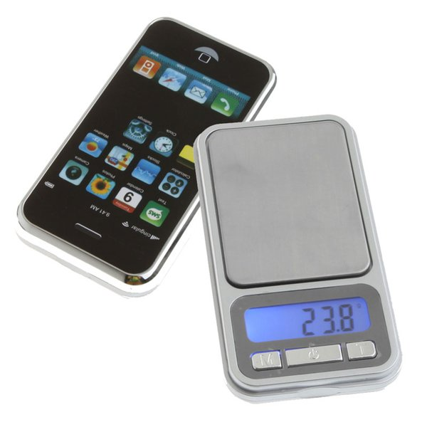 Portable LCD Electronic Digital Pocket Jewelry Coin Gold Diamond Cell Phone Weight Scale Weighting Scales 500g x 0.1g,dandys