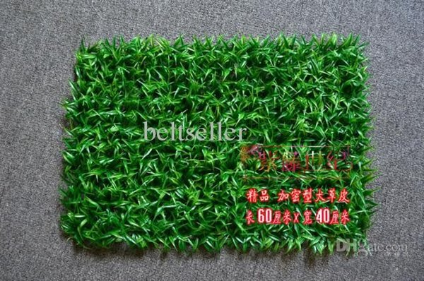 60*40CM Artificial Green turf Artificial plastic boxwood grass mat Shooting Props Christmas Ornament Home Garden Decorations free shipping