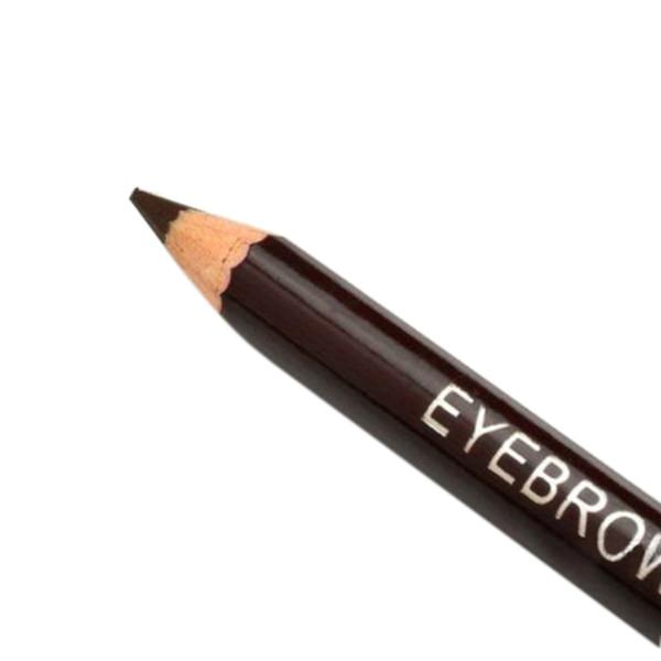 Al por mayor-buena calidad moda lápiz delineador de ojos de leopardo con cepillo de cejas peine metal exclusivo delineador de ojos mujeres belleza pluma