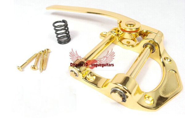 Guitar Bridges For Gibson Korea producing electric guitar vibrato bridge drawing chromium AND golden OEM Musical instruments