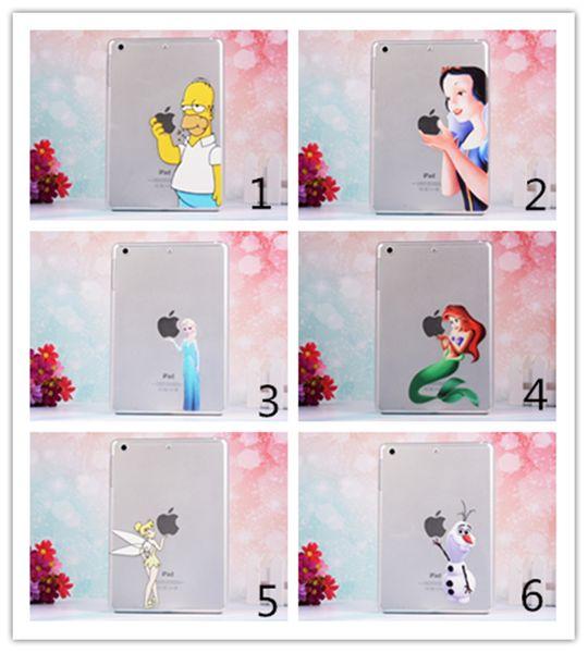 Compre PC Clara Ipad Cases Simpson Congelado Elsa Blanco Como La ...