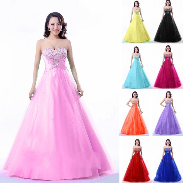 In Stock Real Images Sweetheart Quinceanera Dresses Under $100 ...