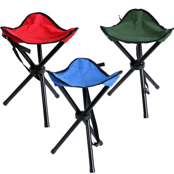 Camping Folding Portable Chair Outdoor Waterproof Foldable Aluminum Alloy Tube For Fishing Beach Hiking Picnic Wholeasle
