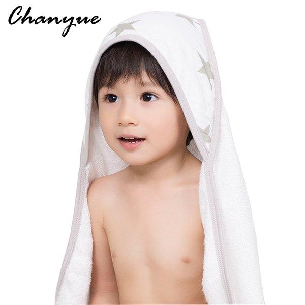 Kinderbadetücher 2017 wholesale chanyue baby hooded bath towel material 100