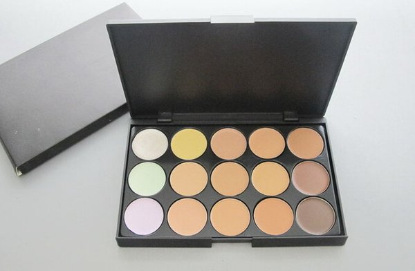 lowest price HOT NEW makeup PROFESSIONAL 15 color concealer palette! DHL free shipping !