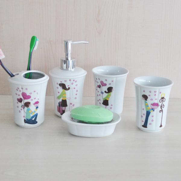 Ropa de baño de cerámica sanitaria baño Wujiantao trajes de pareja para hombres y mujeres regalos de amor regalo 23011