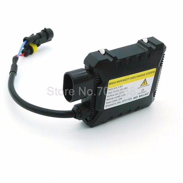 top popular Universal Super Slim DC HID Motorcycle xenon ballast 12V 55W For Car HID Conversion Kit Replacement Light Bulb 2019