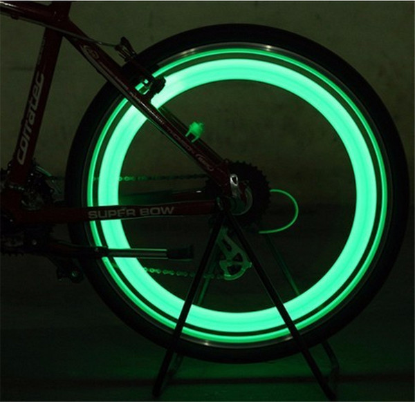 2017 Hot New Cooler Bicycle Bike Night Safe LED Flash Wheel Spoke Lights Motorcycle Car Wheel Lamp Free Shipping
