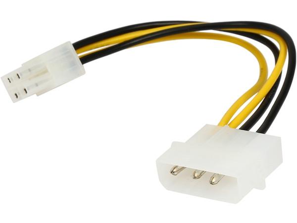 6 Inches Pc Computer Power Supply Psu Eps Atx/12v 4 Pin Ide Molex To ...