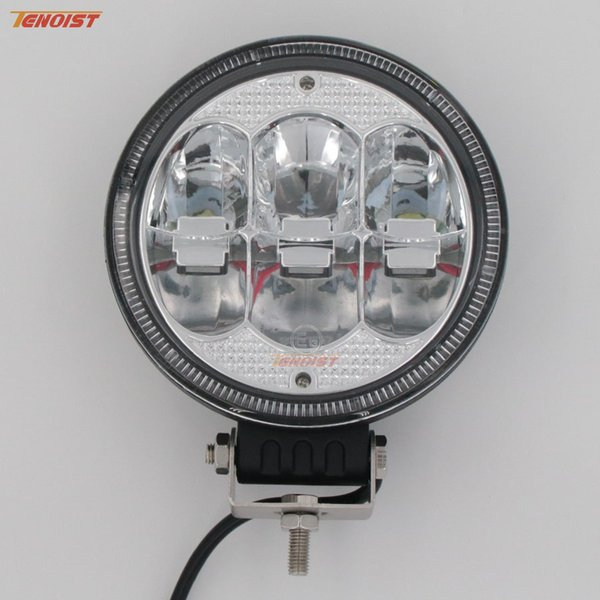 """Hot Sale New 7"""" Inch Round 60W LED Front Bumper Car Dome Light Headlight Worklight for Offroad 4*4 SUV ATV Tractor Boat Wrangler"""