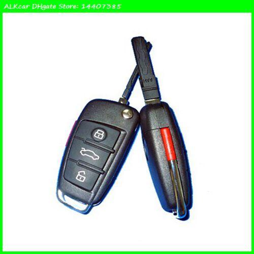 ALKcar 433mhz Remote Control Car Keys duplicator 3rd Generation Remote Code clone pair copy remote key for Audi A6L A339