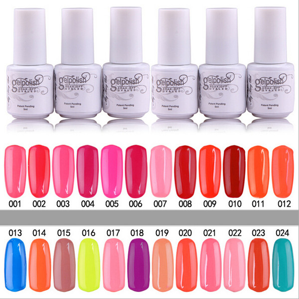 10PCS Gelish Nail Polish UV Gel Soak Off Gel Polish Nail Lacquer ...