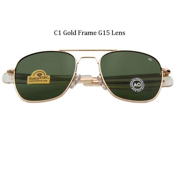 Lentille G15 Gold Frame G15