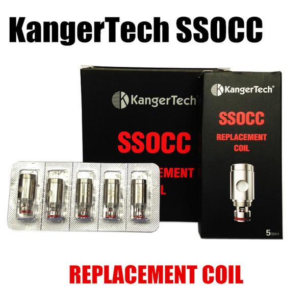 A bobina da substituição de SSOCC dirige o jogo de Subvod do jogo de Kanger Nebox do ajuste de Ni200 0.15ohm 0.5ohm 1.2ohm 1.5ohm