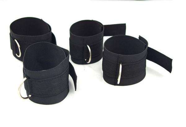 Adult Game Bed Restraint System Underbed Bondage Handcuffs Leg cuffs BDSM Slave Femdom Wrist Ankle Belt Secret Shackles Doss Strap Bondages