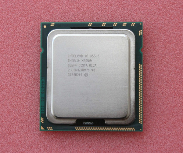 Intel Xeon X5560 2.8GHz 8M 6.4GT/s SLBF4 CPU Server Processor