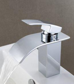 top popular Ceramic Valve Core Sink Faucets Brass Hot and Cold Water Bathroom Basin Mixer Taps with Chrome 2019