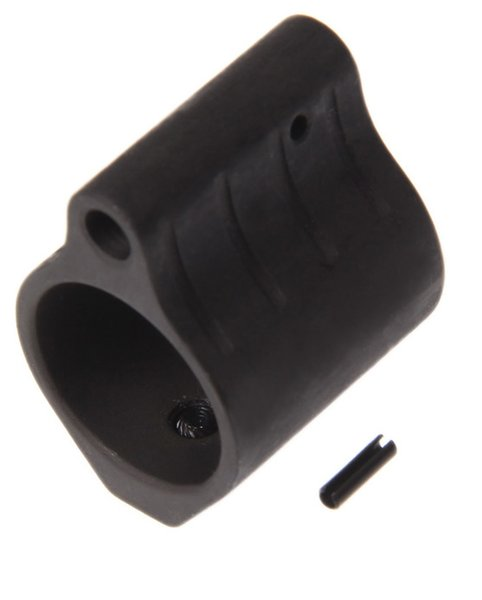 "Tactical 1 Inch Length Steel AR 0.75"" Low Profile Micro Gas Block Barrel Mount"