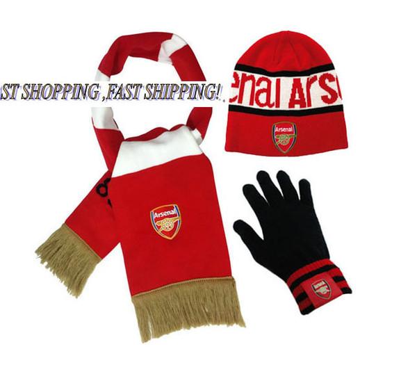 Wholesale-FC Asena nakış takımı logosu örme sıcak sonbahar kış açık eğitim eşarp